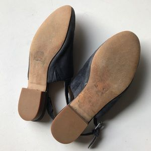 Madewell Shoes - Madewell Callie Mules Slides Flats Suede Blue